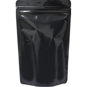 底透明チャック付スタンド袋 黒 140×220