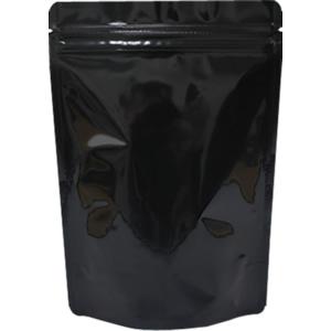 底透明チャック付スタンド袋 黒 160×230