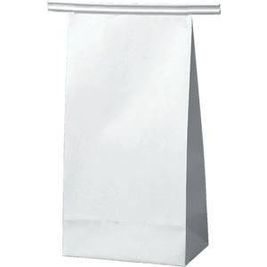ワイヤー付角底袋 白 90×55×170