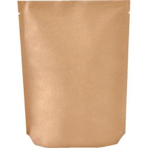 Aクラフト蒸着底折込スタンド袋 160×230