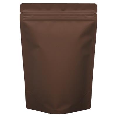 チャック付蒸着スタンド袋 茶160×230