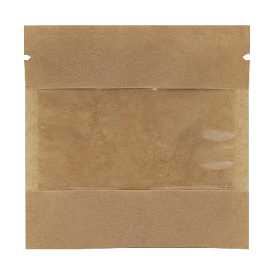 クラフト蒸着三方袋 窓付 110×110