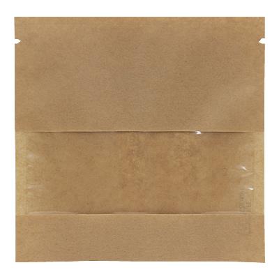 クラフト蒸着三方袋 窓付 150×150
