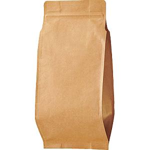 チャックAクラフト蒸着ガゼット袋150×320