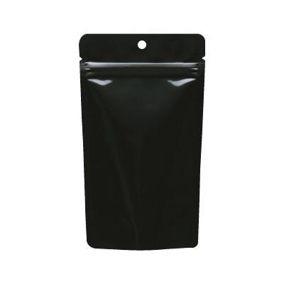 チャック付ALスタンド袋黒穴あき120×210