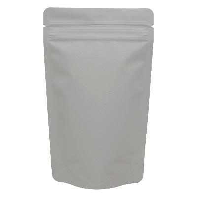 チャック付蒸着スタンド袋 グレー120×200