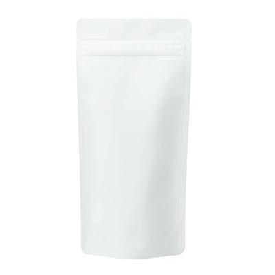 チャック付蒸着スタンド袋 白110×230