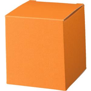 キューブカートン 橙 66×68×66