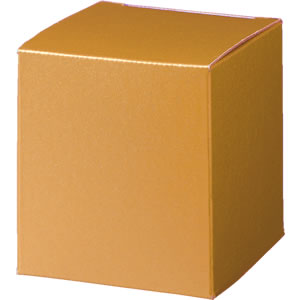 キューブカートン 金 66×68×66