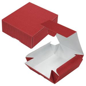 片ダンカートン 赤 109×123×45
