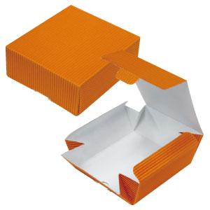 片ダンカートン オレンジ 109×123×45