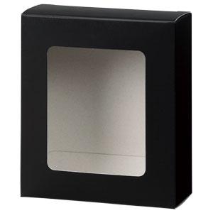カートン 黒 窓付 109×123×45