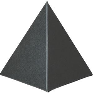三角すいカートン 黒