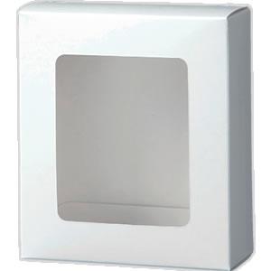 カートン 白 窓付109×123×45