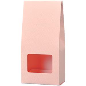三角カートン ピンク 窓付