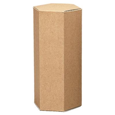 六角カートン クラフト 75×155×75