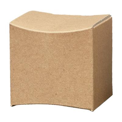 曲面カートン クラフト 78×75×75