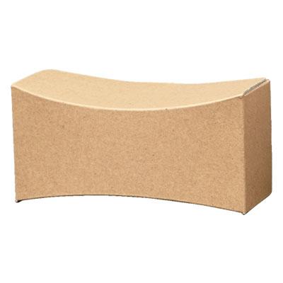 曲面カートン クラフト 155×75×75