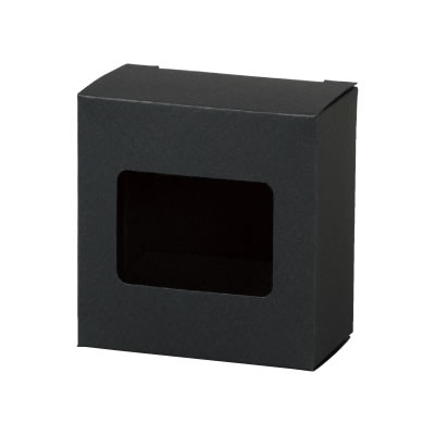 カートン 黒 窓付 70×72×40