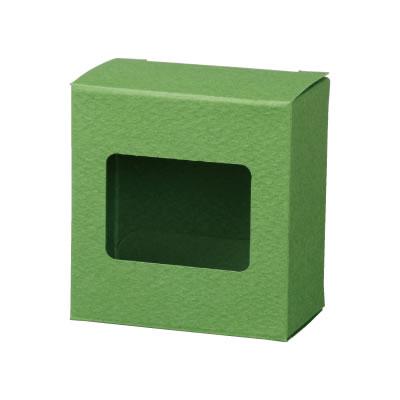 カートン 緑 窓付 70×72×40