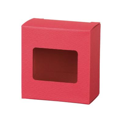 カートン 深紅 窓付 70×72×40