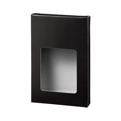 カートン 黒 窓付 110×167×30
