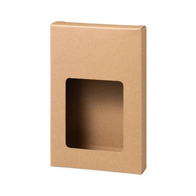 カートン クラフト 窓付 110×167×30