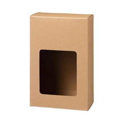 カートン クラフト 窓付 110×167×60