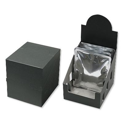 ディスプレイカートン 黒 112×126×130