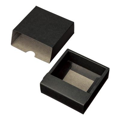 スライド式カートン 黒 93×94×32