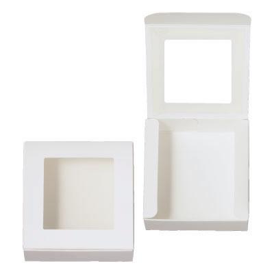 ケースN式 白 フィルム窓付
