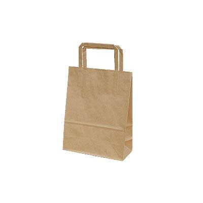 手さげ紙袋 クラフト 180×80×235