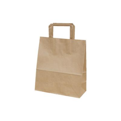 手さげ紙袋 クラフト 220×100×250