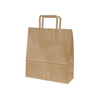 手さげ紙袋 クラフト 260×100×280