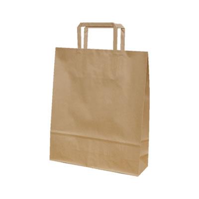 手さげ紙袋 クラフト 260×80×310