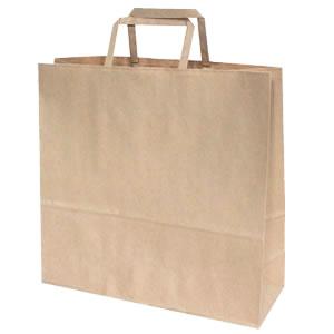 手さげ紙袋 クラフト 320×115×310