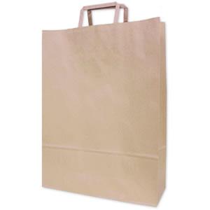 手さげ紙袋 クラフト 320×115×430