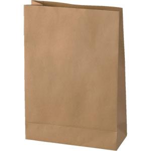 発送用角底クラフト紙袋 220×85×315