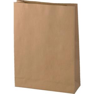 発送用角底クラフト紙袋 260×85×355