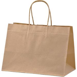 手さげ紙袋 クラフト 320×200×240