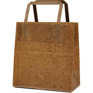 手さげ紙袋クラフトロウ引き180×100×190