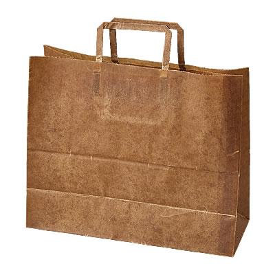手さげ紙袋クラフトロウ引き320×130×270