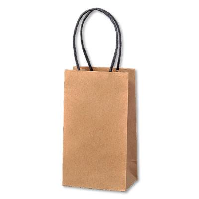 ミニ手さげ紙袋 クラフト 90×60×160