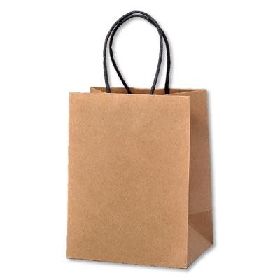 ミニ手さげ紙袋 クラフト 120×85×160