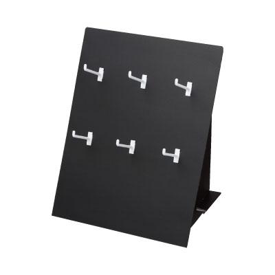 卓上販売台 6フック 黒