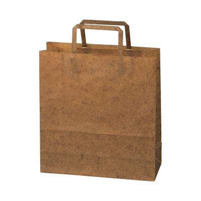 手さげ紙袋クラフトロウ引き260×100×280