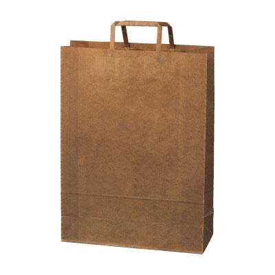 手さげ紙袋クラフトロウ引き320×115×435