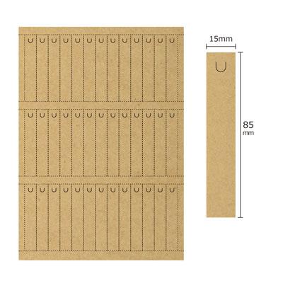 クラフトカード切込付(39面×10シート)