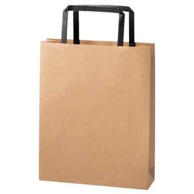 手さげ紙袋 茶 200×60×250