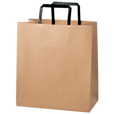 手さげ紙袋 茶 260×150×290
